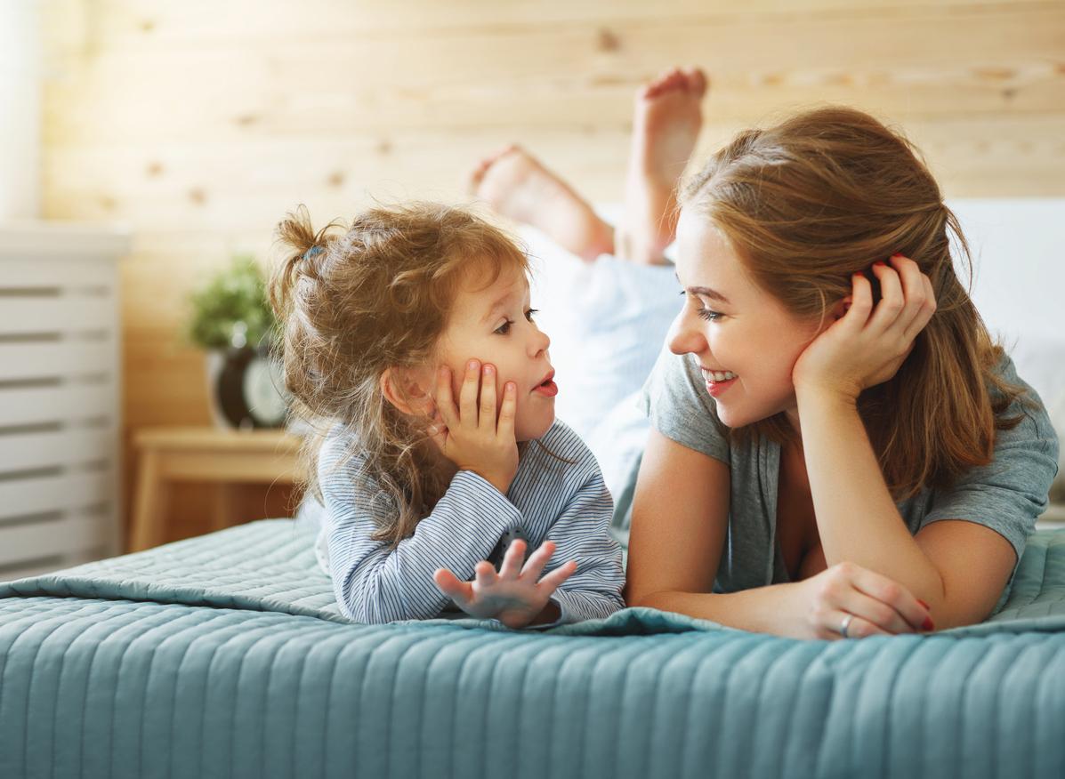 общение с ребенком и мамой